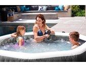 Intex Whirlpool PureSpa™ Bubble Massage Greywood Deluxe, 7-tlg., ØxH: 196x71 cm H: 71 cm, 800 l grau Whirlpools Pools Planschbecken Garten Balkon