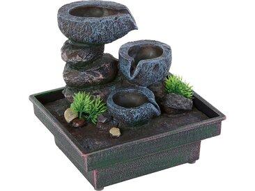 Home affaire Zimmerbrunnen Floating Stones Einheitsgröße grau Deko-Objekte Figuren Skulpturen Wohnaccessoires Dekoratives