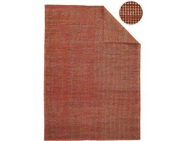 morgenland Wollteppich Kelim Teppich Arvin, rechteckig, 10 mm Höhe, Kurzflor B/L: 200 cm x 300 cm, 1 St. rot Schurwollteppiche Naturteppiche Teppiche