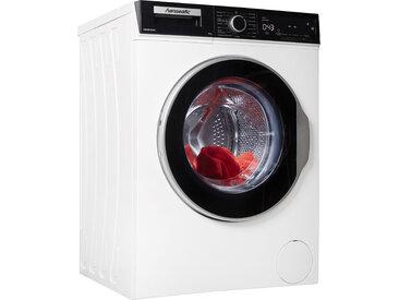 Hanseatic Waschmaschine HWM8T3I16C, 8 kg, 1600 U/min C (A bis G) Einheitsgröße weiß Waschmaschinen SOFORT LIEFERBARE Haushaltsgeräte