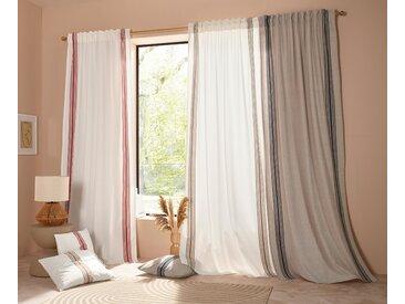 LeGer Home by Lena Gercke Gardine Rahel 225 cm, Multifunktionsband, 110 cm weiß Blickdichte Vorhänge Gardinen