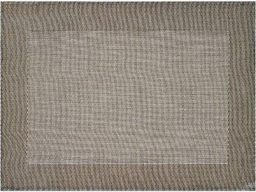 stuco Platzset Cadre B/L: 33 cm x 45 grau Tischdecken Tischwäsche