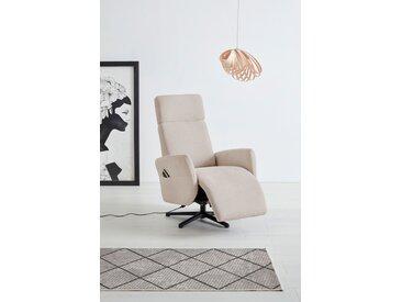 OTTO products TV-Sessel Renell, wahlweise manuell, mit zwei Motoren - auch in Akkubetrieb und 2 im Aufstehhilfe; Bezugsqualitäten aus 100%-recyceltem Polyester Struktur weich, B/H/T: 71 cm x 110 82 beige Fernsehsessel Sessel Wohnzimmer