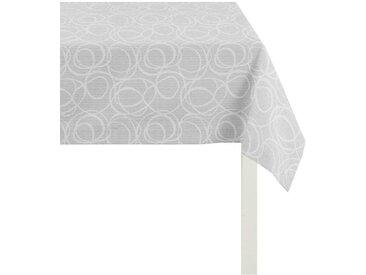 APELT Tischdecke 4195 Piqué - UNI, (1 St.) B/L: 150 cm x 250 grau Tischdecken Tischwäsche