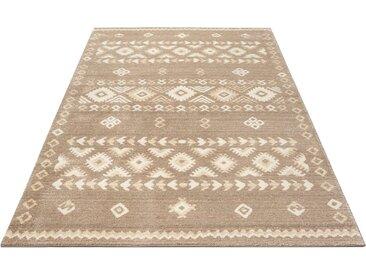 Home affaire Teppich Amara, rechteckig, 14 mm Höhe, in Berber-Optik, Wohnzimmer B/L: 280 cm x 380 cm, 1 St. braun Esszimmerteppiche Teppiche nach Räumen