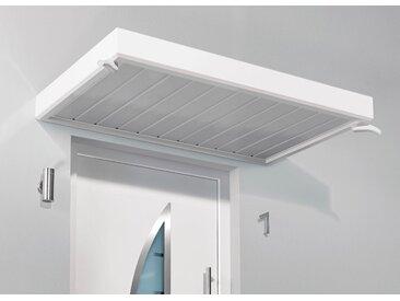GUTTA Vordach TYP NM, BxT: 200x90 cm B/H/T: 200 x 14 90 weiß Haustür-Vordächer Türen Bauen Renovieren
