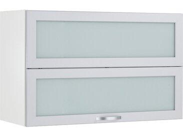 wiho Küchen Faltlifthängeschrank Flexi B/H/T: 90 cm x 56 35 weiß Hängeschränke Küchenschränke Küchenmöbel