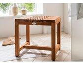 Destiny Badhocker SPA Hocker/Beistelltisch Design B/H/T: 46 cm x 35,5 beige Bänke Sofort lieferbar Badezimmer Möbel sofort