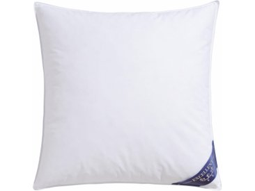 Excellent 3-Kammer-Kopfkissen Davos, (1 St.), hergestellt in Deutschland, allergikerfreundlich B/L: 80 cm x weiß Allergiker Kopfkissen Bettdecken, Unterbetten