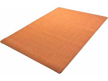 Living Line Sisalteppich Trumpf, rechteckig, 6 mm Höhe, Obermaterial: 100% Sisal, Wohnzimmer 8, 300x400 cm, orange Schlafzimmerteppiche Teppiche nach Räumen