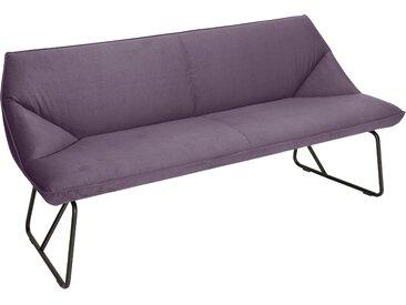 TOM TAILOR Sitzbank CUSHION, mit schmalem Metallgestell, Breite 184 cm B/H/T: x 83 65 cm, Samtstoff STC lila Tom Tailor Stühle und Sitzbänke Premium-Möbel