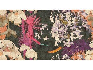 living walls Fototapete Walls by Patel Vintage Bouquet 2 B/L: 5 m x 2,7 m, St. bunt Fototapeten Tapeten Bauen Renovieren