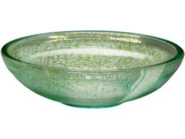 Kleine Wolke Seifenschale Mercury, hochwertige Accessoire Serie aus Glas Einheitsgröße grün Seifenspender Schalen Bad-Accessoires Bad Sanitär