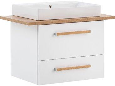 Schildmeyer Waschtisch, Duo Einheitsgröße weiß Waschtische Badmöbel