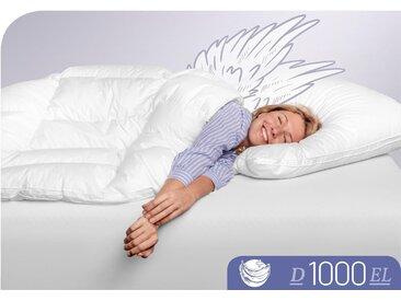 Daunenbettdecke D1000 Schlafstil extraleicht Füllung: 100 %...