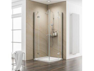 Schulte Eckdusche MasterClass, mit Drehtür Einheitsgröße silberfarben Duschkabinen Duschen Bad Sanitär