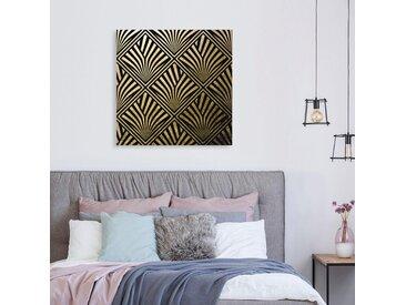 Leonique Acrylglasbild Muster 100x100 cm, goldfarben Acrylglasbilder Bilder Bilderrahmen Wohnaccessoires