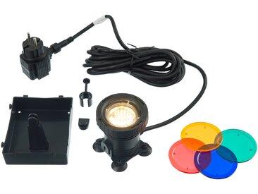 Ubbink Teichleuchte AquaLight 30 LED Höhe: 20 cm schwarz Außenleuchten SOFORT LIEFERBARE Lampen Leuchten