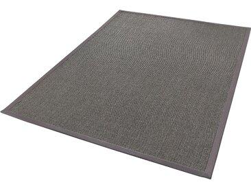 Dekowe Sisalteppich Mara S2 mit Bordüre, rechteckig, 5 mm Höhe, Flachgewebe, Obermaterial: 100% Sisal, Wohnzimmer B/L: 240 cm x 340 cm, 1 St. silberfarben Teppiche