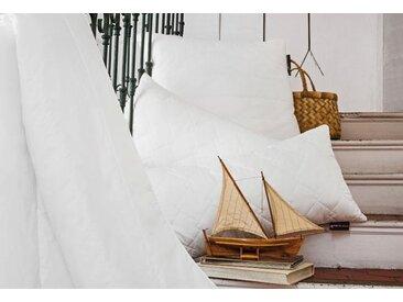 Baumwollbettdecke, Vital Plus, Centa-Star, Bezug: 100% Baumwolle weiß, 200x220 cm, Basic weiß Allergiker Bettdecke Bettdecken Bettdecken, Kopfkissen Unterbetten