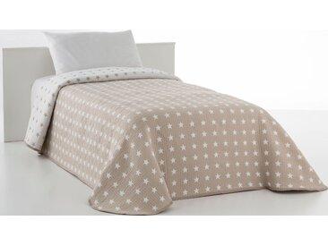 Tagesdecke Yolanda, Vialman Home 140x210 cm, Baumwolle-Kunstfaser beige Kunstfaserdecken Decken