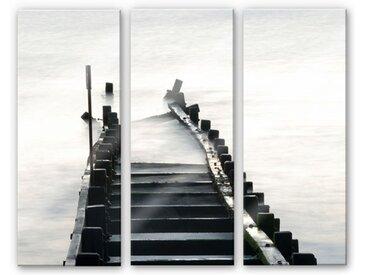 Wall-Art Mehrteilige Bilder Way to nowhere (3-teilig), (Set, 3 St.) B/H/T: 40 cm x 0,4 100 bunt Bilderrahmen Wohnaccessoires