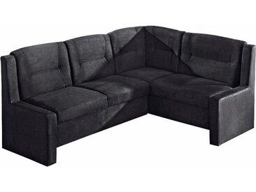 Max Winzer Eckbank Noah, (1 St.) Luxus-Microfaser, groß Langer Schenkel links, 200cm schwarz Eckbänke Sitzbänke Stühle
