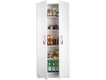 wiho Küchen Mehrzweckschrank Amrum, 80 cm breit, 2 Türen B/H/T: x 180 35 cm, weiß Mehrzweck-Schränke Schränke