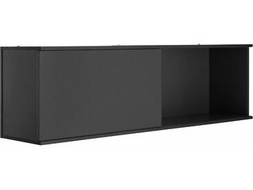 OPTIFIT Hängeregal Mini, mit Schiebetür B/H/T: 150 cm x 44,5 35 grau Hängeschränke Küchenschränke Küchenmöbel