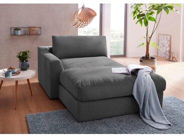 sit&more Recamiere Luxus-Microfaser ALTARA NUBUCK®, 139 cm, links grau Chaiselongues Recamieren Sofas Couches