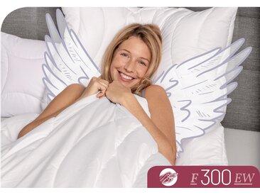 Schlafstil Baumwollbettdecke F300, extrawarm, (1 St.), hergestellt in Deutschland, allergikerfreundlich B/L: 240 cm x 220 cm, extrawarm weiß Allergiker Bettdecke Bettdecken Bettdecken, Kopfkissen Unterbetten