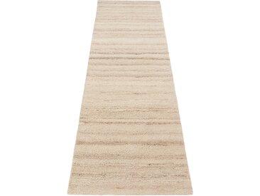 Theko Exklusiv Läufer Janne, rechteckig, 14 mm Höhe B/L: 90 cm x 250 cm, 1 St. beige Teppichläufer Bettumrandungen Teppiche
