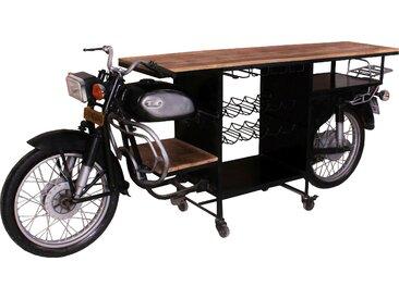 SIT Bartisch This&That Tischplatte: Massivholz, Gestell: Metall schwarz Bartische, Theken Tresen Barmöbel Küchenmöbel Tisch
