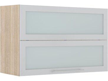 wiho Küchen Faltlifthängeschrank Flexi2 Einheitsgröße grau Hängeschränke Küchenschränke Küchenmöbel Schränke