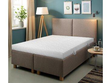 Komfortschaummatratze + Rollrost Smart M & Quick 28, Beco, (Set) 2, 140x200 cm, ca. 16,5 cm Lattenroste nach Größen Matratzen und Matratzen-Lattenrost-Sets