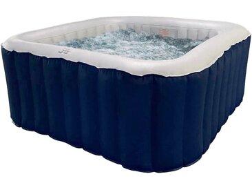 Lite by mspa Whirlpool LITE, BxLxH: 158x158x68 TOPSELLER B/L: 158 cm x cm, 650 l blau Whirlpools Pools Planschbecken Garten Balkon