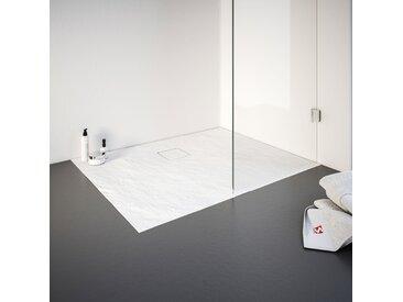 Schulte Duschwanne, rechteckig, BxT: 800 x 1200 mm Einheitsgröße weiß Duschwannen Duschen Bad Sanitär