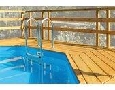 weka Terrasse Sonnendeck, passend für Holzpool Mali 3 B/H/T: 139 cm x 116 242 braun Zubehör Gartenhäuser Garten Balkon