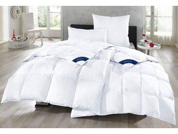 Gänsedaunenbettdecke + Kopfkissen, Bella, Otto Keller, (Spar-Set) weiß, 2x 135x200 cm 80x80 cm, Premium weiß Daunendecke Bettdecken Bettdecken, Kopfkissen Unterbetten Bettwaren-Sets
