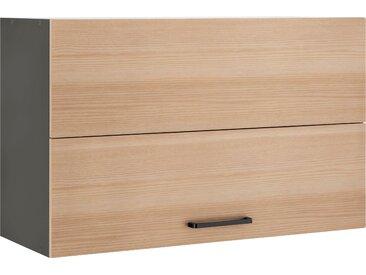 wiho Küchen Faltlifthängeschrank Esbo, Breite 90 cm x 56,5 35 (B H T) beige Hängeschränke Küchenschränke Küchenmöbel Schränke