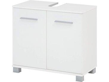 Wilmes Waschbeckenunterschrank Kao 60 x 56 32 (B H T) cm, 2-türig weiß Bad-Waschbecken-Unterschränke Badmöbel Schränke