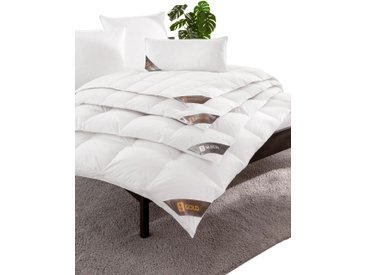 SPESSARTTRAUM Federbettdecke B/L: 155 cm x 200 cm, Bezug: Baumwolle Füllung: Entendaune/-feder weiß Allergiker Bettdecke Bettdecken Bettdecken, Kopfkissen Unterbetten