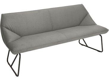 TOM TAILOR Sitzbank CUSHION, mit schmalem Metallgestell, Breite 184 cm B/H/T: x 83 65 cm, Samtstoff STC grau Tom Tailor Stühle und Sitzbänke Premium-Möbel