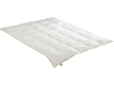 Gänsedaunenbettdecke, Daunendecke, irisette GREENLINE weiß, 155x220 cm weiß Daunendecke Bettdecken Bettdecken, Kopfkissen Unterbetten Bettdecke
