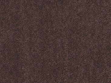 Vorwerk Teppichboden EXCLUSIVE 1060, rechteckig, 11 mm Höhe, Luxus-Saxony, 400 cm Breite B: cm, 1 St. braun Bodenbeläge Bauen Renovieren