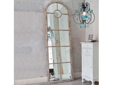 Schneider Spiegel Fenster (B/H/T): 59/180/4 cm beige Wohnaccessoires
