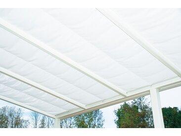 Beckmann Sonnensegel, für Terrassendach Exklusiv 9 B/T: 94 cm x 364 weiß Überdachungen Garten Balkon Sonnensegel