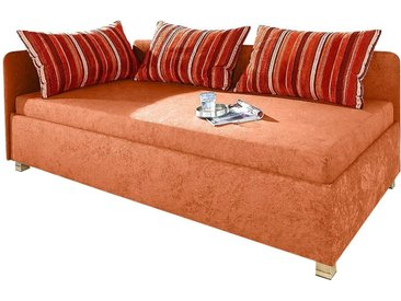 Maintal Polsterliege Ausführung 1, Liegefläche B/L: 120 cm x 200 cm, kein Härtegrad orange Funktionsbetten Betten Schlafzimmer