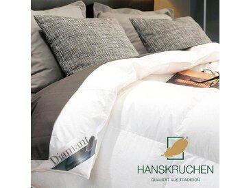 Daunenbettdecke, Diamant, HANSKRUCHEN weiß, 155x220 cm weiß Daunendecke Bettdecken Bettdecken, Kopfkissen Unterbetten Bettdecke