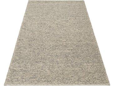 Wollteppich, Seebu Loop, Home affaire, rechteckig, Höhe 10 mm, handgewebt 1, 70x140 cm, mm beige Teppiche Fußmatten Nachhaltige Heimtextilien